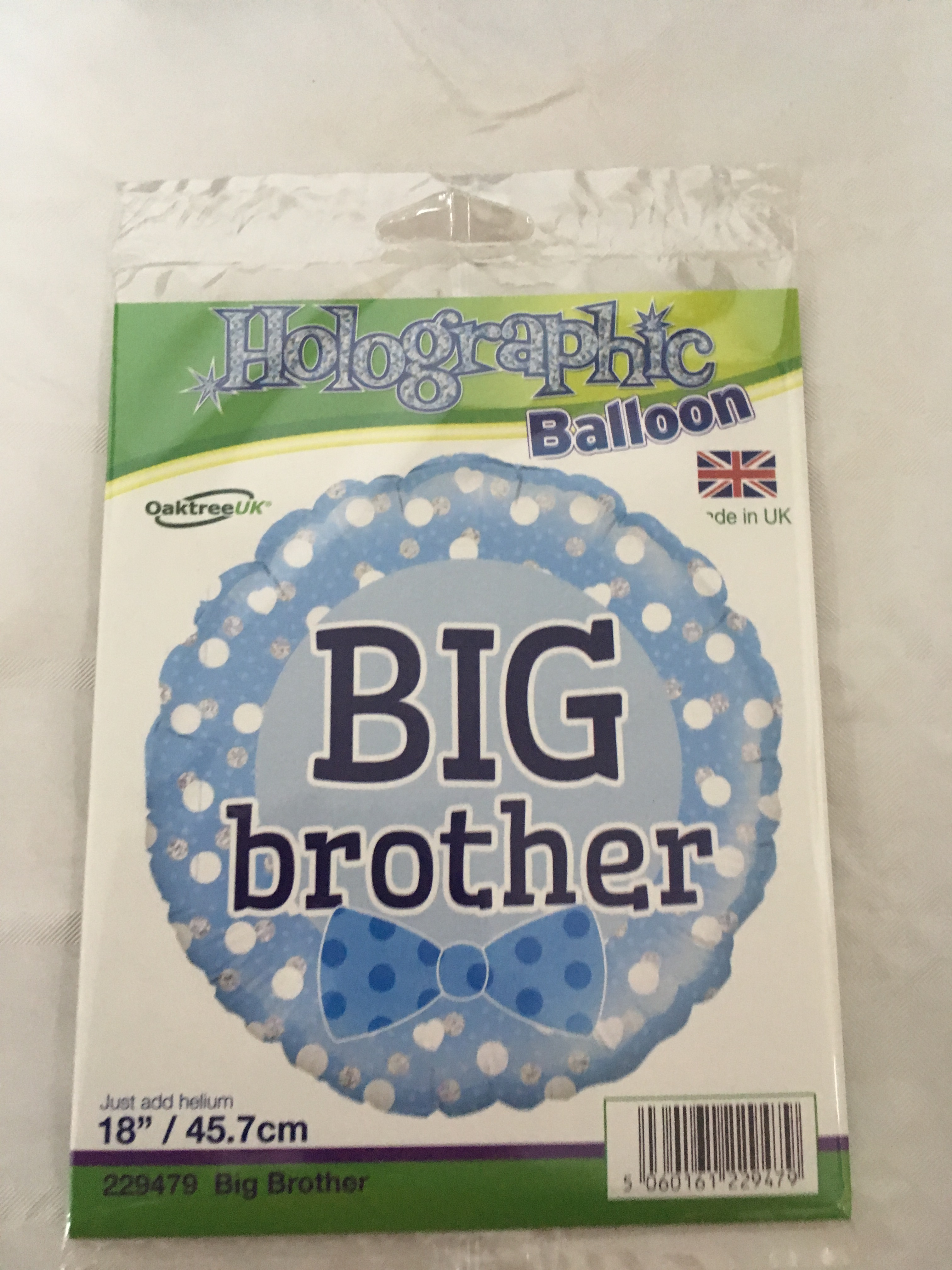 Big brother foil balloon